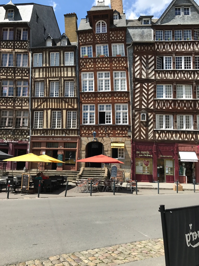 Rennes and North East Brittany France June 2017 Claire